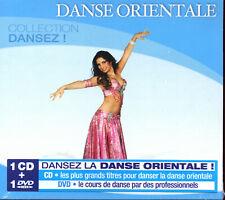 DANSE ORIENTALE (COLLECTION DANSEZ) - COMPILATION CD + DVD - NEUF NEW