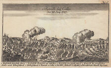 Czech Republic Kolin Original Copperplate Raspe Surprising Ben Joachai 1758