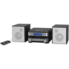 Home Stereo CD Shelf System Player Music MP3 Radio Speakers Remote Ipod AM/FM