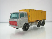 Diecast Lesney Matchbox Tipper Container Truck No. 47 Good Condition