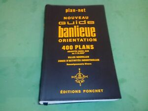 Nouveau Guide banlieue orientation : 400 Plans - Plan-net/Editions Ponchet