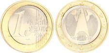 1 Euro Fehlprägung 2002 J Deutschland  Loch verstanzt, Gewicht zu gering, 7,11g