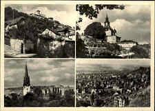 RADEBEUL Sachsen DDR Postkarte 1975 mit 4 Ansichten Foto-Handabzug Nowak Dresden