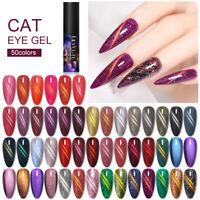 LILYCUTE 5ml Cat Eye Gel Nail Polish Colorful Soak Off UV LED Nail Art Varnish