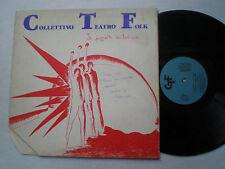COLLECTTIVO TEATRO FOLK St ITALY LP CTF 1978 FOLK PROG JAZZ AVANGARDE