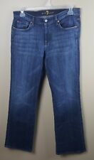 7 FOR ALL MANKIND Men's Jeans 35X33 Blue Bootcut