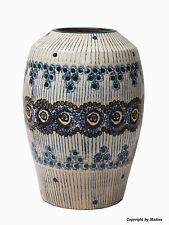 Bunzlauer Jugendstil-Vase - 1900 - Bunzlau - Schwamm- & Pinsel Dekor