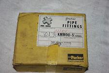 "PARKER FEMALE PIPE CROSS 3/8"" KMM00-S New Box of 10"
