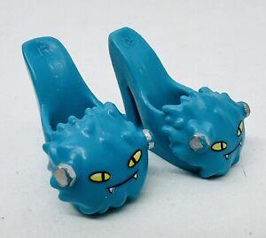 Monster High Mattel Doll Dead Tired Draculaura Shoes / Heels - Blue
