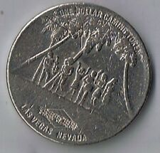 Tropicana Casino $1.00 Fortune Cove Waterfall  Gaming Token Las Vegas Nv 1992