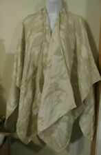 CHATTIES  Tan Wrap/Shawl with 2 Pockets Acrylic/Polyester One Size Hand Wash