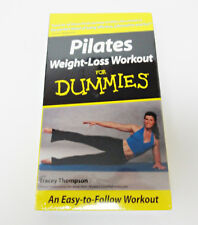 Pilates Weight Loss Workout For Dummies by Tracey Thompson VHS Tape New Sealed