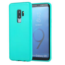 COVER Custodia Morbida TURCHESE GEL Silicone per Samsung Galaxy S9 PLUS S9+