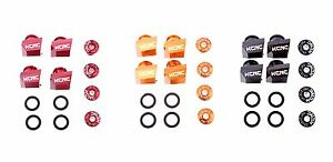 KCNC Mountain Bike Chainring Convert Kit Bolts for Shimano XTR M980 to Double