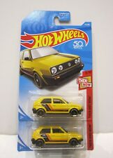 hot wheels lot VW GOLF MK 2 JAUNE Volkswagen 2 ref  L07 / L05  US COLLECTOR