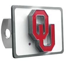Oklahoma Sooners Trailer Hitch Receiver Cover Heavy Duty Metal Class II & III