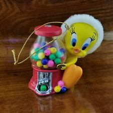 New Vintage Warner Bros. Studio Store TWEETY BIRD Bubble Gum Machine Ornament