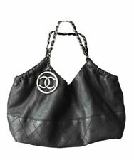 CHANEL Black Leather Bags & Handbags for Women