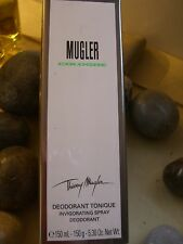 COLOGNE MUGLER THIERRY MUGLER Perfumed DEODORANT  Spray 150 gr ORIGINAL RARE