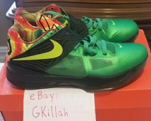 Used Nike Zoom KD IV Weatherman Size 9.5 KDs IVs 4s 4 Weathermans Weather Durant