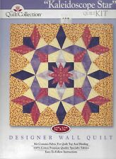 New Kaleidoscope Star from The Quilt Collection Complete Kit  Fabric & Pattern