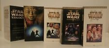 Star Wars Trilogy (VHS, 2000, 3-Tape Set, Widescreen Special Edition Episode II…