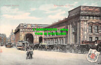 R549175 Newcastle on Tyne. Central Station. Woolstone Bros. The Milton Glazette