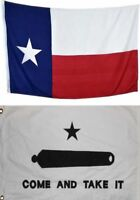 3x5 Texas State Flag Come and Take It Flag State Texas 2 Flag Combo Gift Set