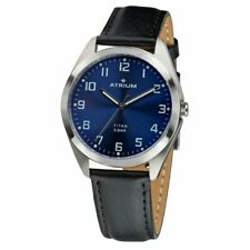 ATRIUM Ladies Watch Wristwatch Analog Quartz Titan A15-15 Leather