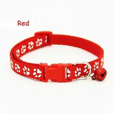 Fascinating Color Collars Puppy Bell Cat With Pet Dog Collar Reflective Red