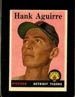 1958 TOPPS #337 HANK AGUIRRE EXMT TIGERS  *XR20160