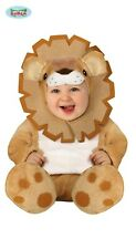 Fiestas Guirca Baby Lion Costume King of the Jungle Toddler Fancy Dress Costume