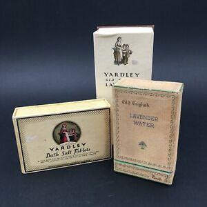 Yardley Old English Lavender 2 Bottles + 6 Bath Salt Tablets - Bath Salts Bath