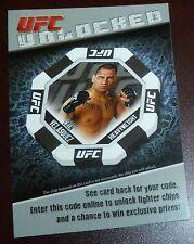 Cain Velasquez 2011 Topps Title Shot Unlocked UFC Card #2 Code Insert 121 155 99