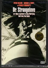 Dr Strangelove-Peter Sellers in 3 roles, tries to stop pyscho war-eager generals