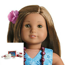 American Girl KANANI DOLL + HOLIDAY accessories BONUS SET - purse earrings book
