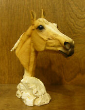 Castagna Animal Figurines #298PH PALOMINO HORSE BUST, NEW/Box MADE IN ITALY