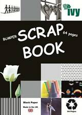 6 x Scrapbooks XL Jumbo 64 Noir pages 370mm x 240mm