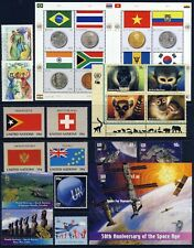 UN . NEW YORK . 2007 Year Set . 16 Stamps + 2 Sheets . Mint Never Hinged