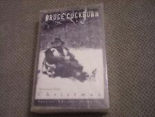 SEALED RARE PROMO Bruce Cockburn CASSETTE TAPE Christmas sampler T-Bone Burnett