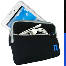 """Estuche negro Funda De Neopreno Para Tablet Acer Iconia A1-713HD 7"""" Bolsa Cubierta De Bolsillo"""