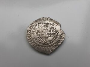 4 Reales Mexico Argent  Philippe 2 , 1527-1598