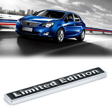 "Universal Metal "" Limited Edition "" Car Body Emblem Badge Sticker Decal Black"
