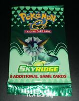 SEALED Skyridge Set WOTC Booster Pack (Vaporeon Art) Pokemon Cards LIGHT