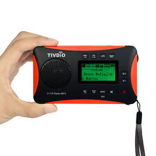 New TIVDIO FM Stereo MW SW DSP Digital Receiver World Full Band Radio MP3 Player