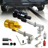 Auto KFZ Turbo Sound Endrohr Auspuff Turbopfeife Whistle Universal 4 Farben E6I6
