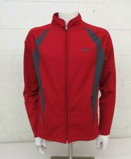 GoLite Red & Gray Zip-Front Track Jacket Men's Large Satisfaction Guaranteed