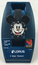 Lorus By Seiko Womens Disney Mickey Mouse Ears Icon Watch