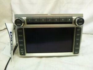 2009 09 Ford Edge Lincoln MKX Radio GPS 6 Disc Cd THX Sound 9A1T-18K931-BC ACX18