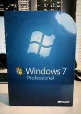 MICROSOFT WINDOWS 7 PROFESSIONAL (Brand New Sealed) 32/64-BIT DVD FQC-00133
